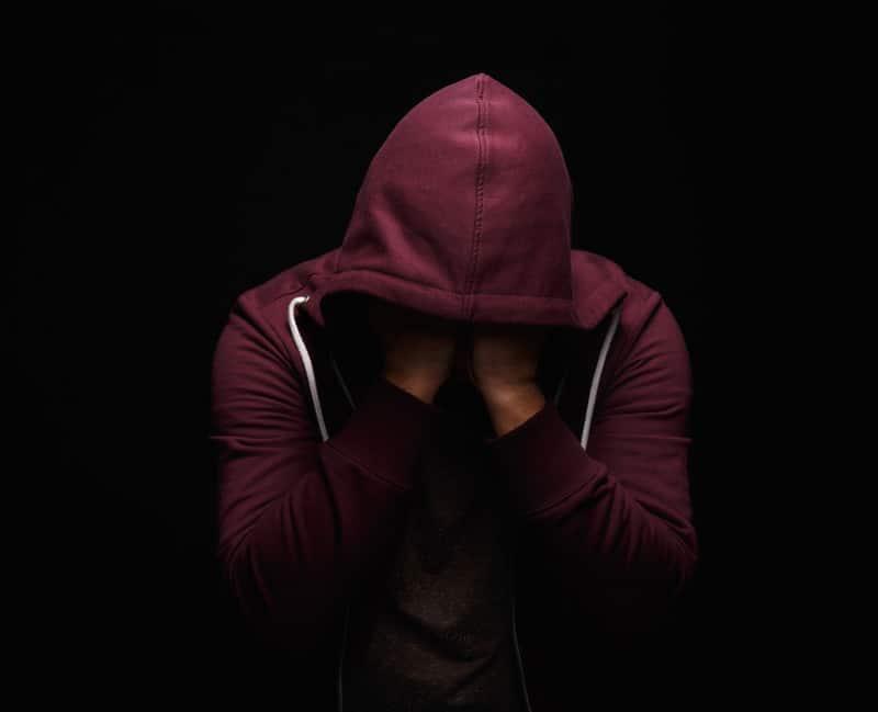 Drug Addict Going Through Addiction Crisis